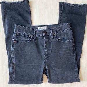 Madewell Black Cali Demi-Boot Jeans